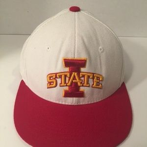 Zephyr ISU Iowa State Cyclones Fitted Hat Size 7